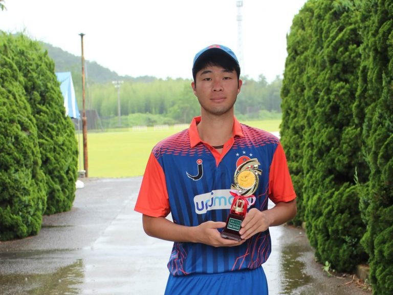 Kohei KUBOTA  Best Bowler of the Tournament