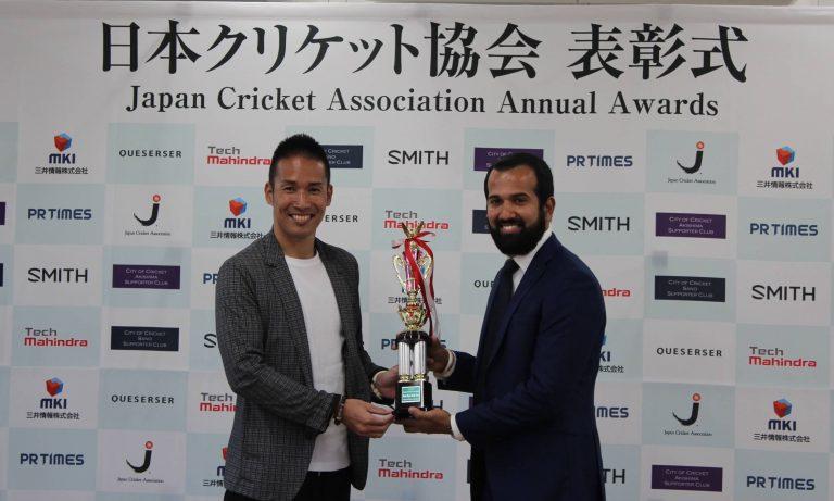 Player of the year -Sabaorish Ravichandran