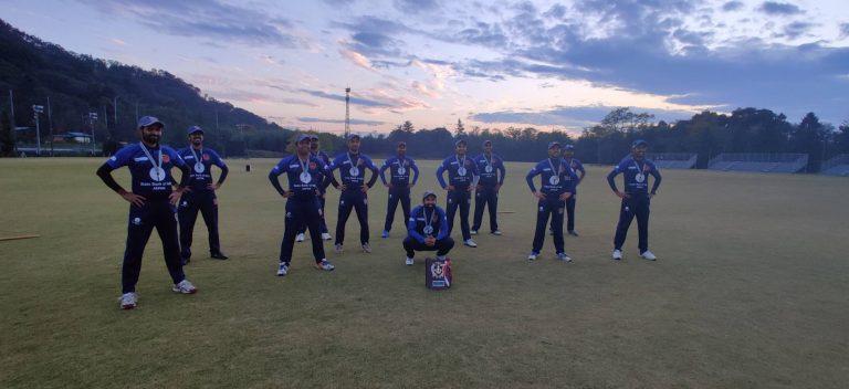 DIV 1 Winning team -TIGERS